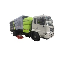 High performance 4x2 road sweeper/ street cleaning truck for sale