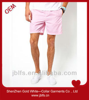 men wholesale polyester cotton shorts