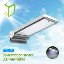 Yardshow Sample Available Light-control Motion Sensor Activated external solar wall lights for garden yard