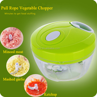Multifunction Home Kitchen Grinder Pull Rope Vegetable Chopper