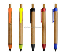 bamboo recycled promotional touch ball pens
