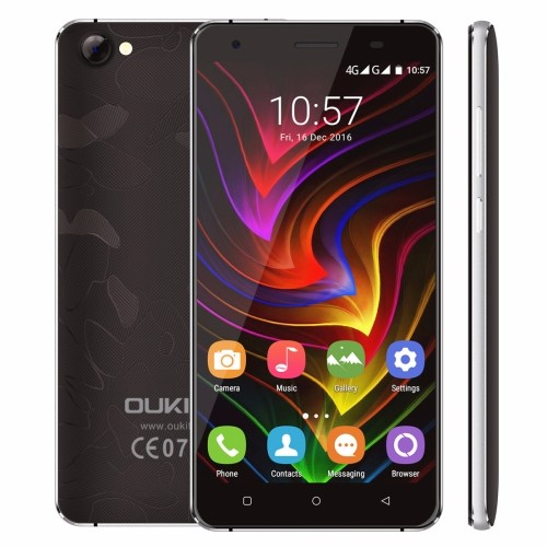 Wholesale Original OUKITEL C5 Pro Smartphone, 5.0 inch Android 6.0 MTK6737 Quad Core up to 1.3GHz, Dual SIM 4G Mobile Phone