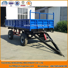 Agricultural machinery Tractor tipper trailer 4-wheel tractor trailer direct manufacturer