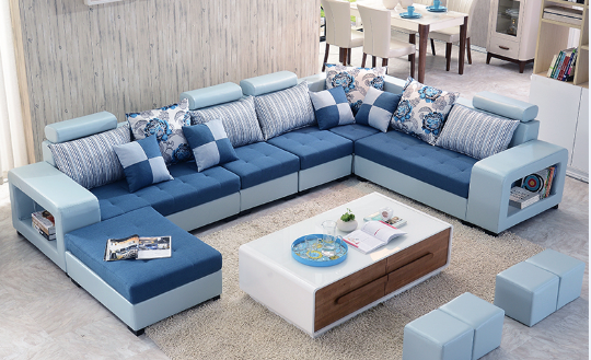 Admirable Bellagio U Shape Large Fabric Couch Modern Corner Sofa Living Room U Shaped Colour Selection View Cheap Sofa Set Vp Product Details From Complete Home Design Collection Barbaintelli Responsecom
