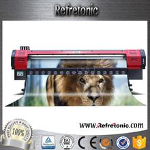 1.8m Large Format DX5 Eco paper roll printing machine