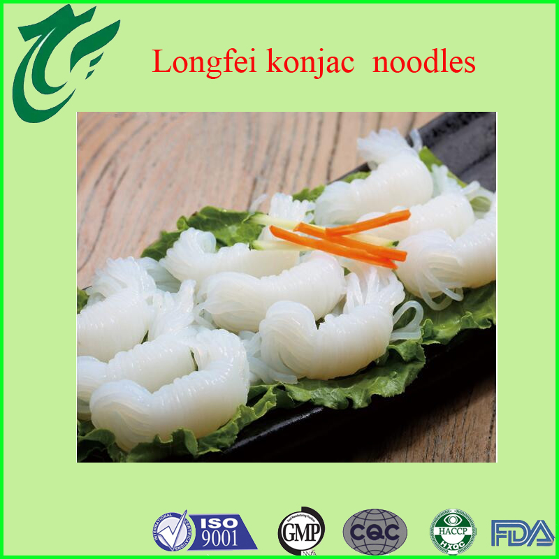 Factory price oem food recipes organic instant shirataki noodles