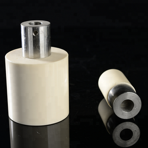 High purity zirconia ceramic plunger and pistons
