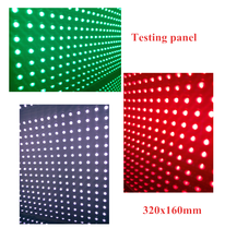 P10 Green Color 1G Outdoor Waterproof LED Display Module 32*16cm