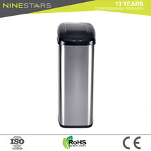 Soft Close Lid 50 Litre Medical Stainsteel Concrete Trash Cans Manufacture