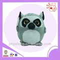 Big eyes round lemur toys ,plush stuffed animal toys