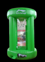 customized fundraiser inflatable cush machine
