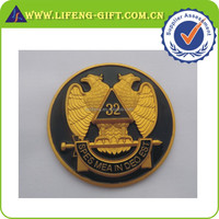 Scottish Rite 32nd Degree Eagle Mason Car Emblem