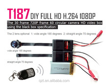 T187 new H.264 1080P battery operated outdoor wireless security mini hd camera module
