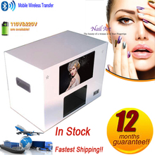 Good price 3d fresh flower rose machine digital nail art printer with computer