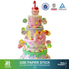 Bakery baking tool candy-land cake paper sticks