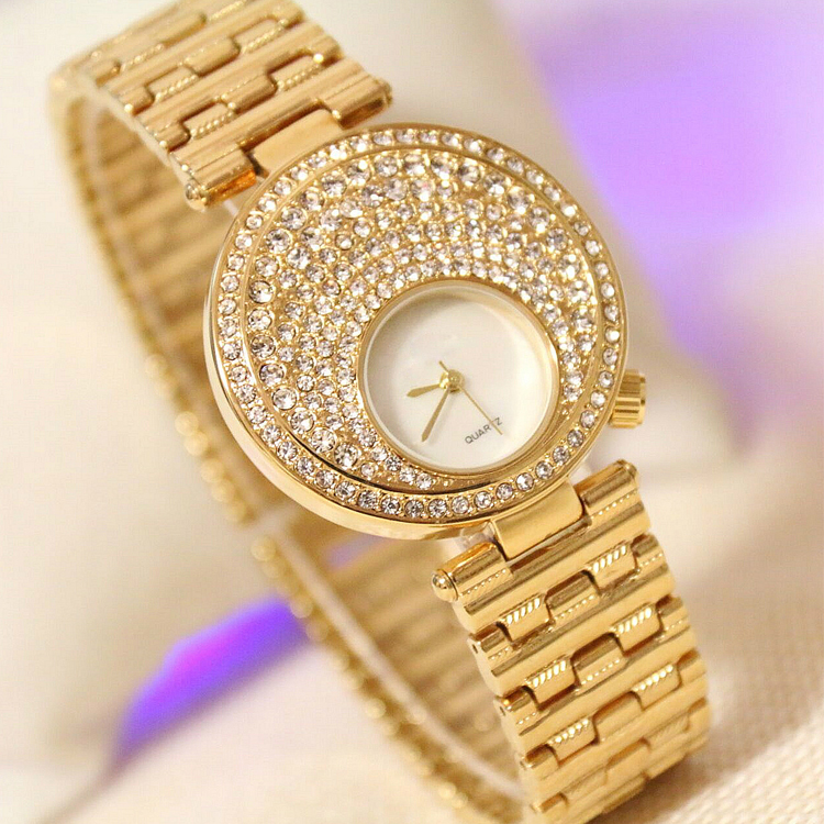 Alloy Women Diamond Watch W142, Manufacturer Since 2001, OEM/ODM Available,