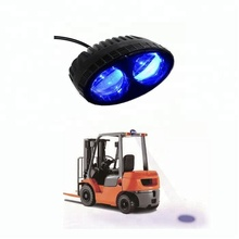 10~30V DC Forklift Blue LED Spot light Safety Warning Lamp, forklift led warning light, 20w forklift led