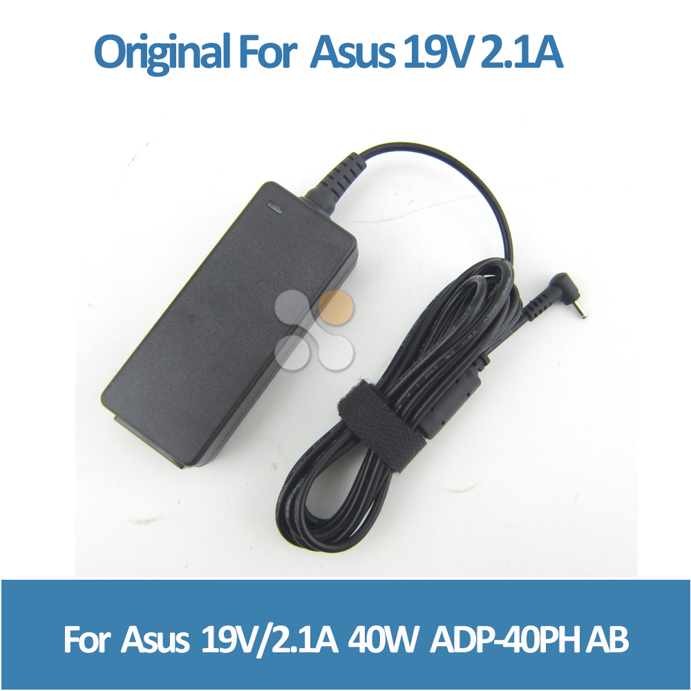 Original 19V 2.1A 40W Charger For ASUS Eee PC 1001HA 1005HA 1201HA 1005 <strong>1015</strong> 1018 ADP-40PH Laptop Adapter 2.5X0.7 mm
