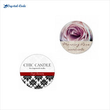 Fashionable candle sticker label,custom candle label,candle label