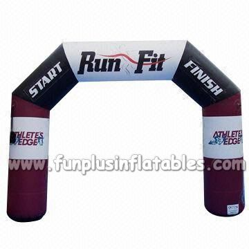 Customized marathon Racing Inflatable Arch, inflatable finish line arch P1032(2)
