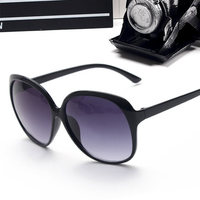 IVE 2017 Luxury Women Sunglasses Fashion Round Ladies Vintage Retro Brand Designer Oversized Female Sport Sun Glasses Tide 9550