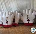 Big hand mascot costume for adult cosplay/funny mascot costume