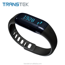 Bluetooth Wristband Pedometer /wristband activity tracker with heart rate