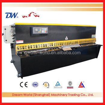 2016 hydraulic metal cutting shear , sheet metal shearing machine