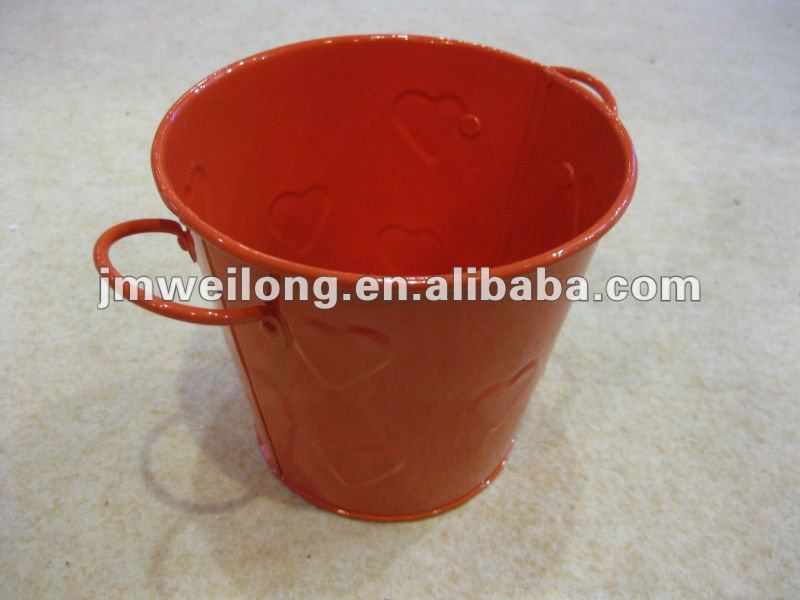 0.9L Decorative Smart Bucket(Heart-shaped Embossed)