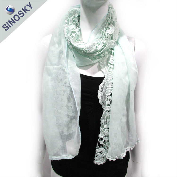 2015 New design beautiful hot sales syria scarf