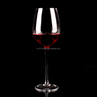 Wholesale Handmade High quality Red Wine Glass /wine goblet
