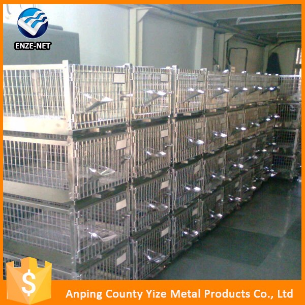 top sales powder coated commercial wholesales wire rabbit cage