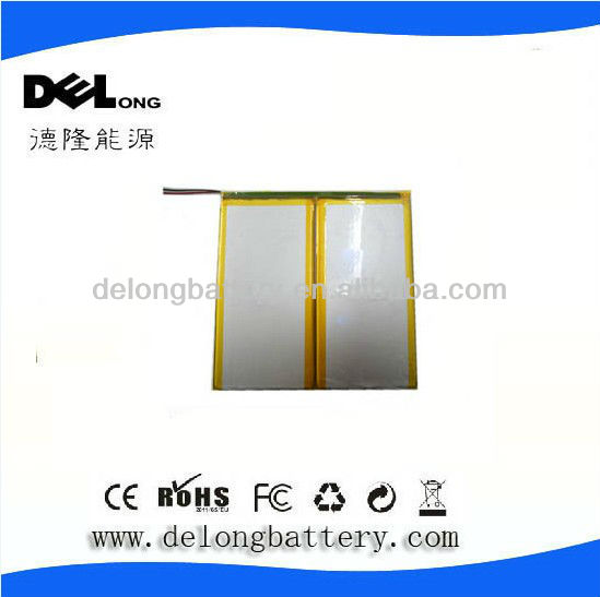 7.4V 3500mAh Lipo Battery for Tablet PC 43116123