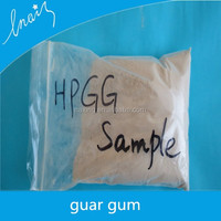 Free samples of HPG powder used in oil drilling