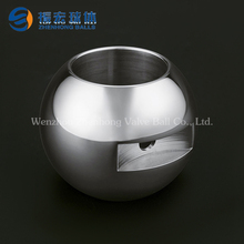 Hollow metal balls manufacturers wholesale drilled ball stainless steel parts of valve