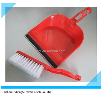 plastic dustpan and brush set 501A from manufacturer