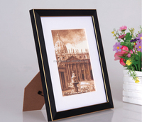 wholesale digital picture photo frame wood material picture frame