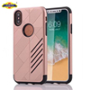 2 In 1 Armour Tough Style Hybrid Dual Layer Armor Defender PC+TPU Protective Hard Case For iPhone X