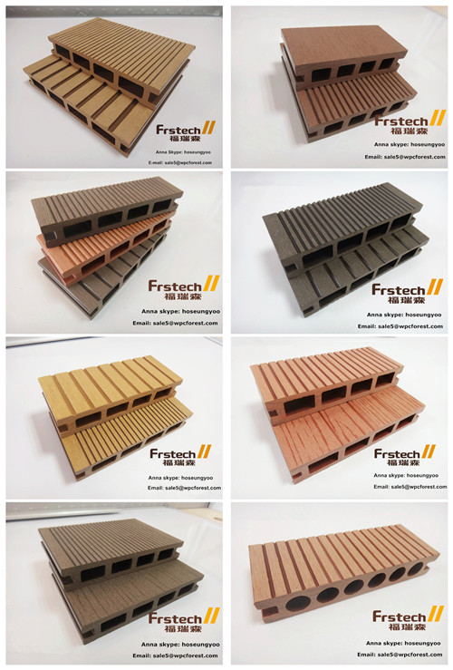 150x25mm FRSTECH Decks Wpc Forest Pool Covers Wood Composite Decking Engineered Flooring Around