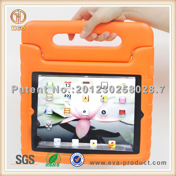 Drop proof function for autism kids tablet case with handle for ipad air