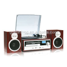 high glossy 3 speed vinyl converting to MP3 turntable player