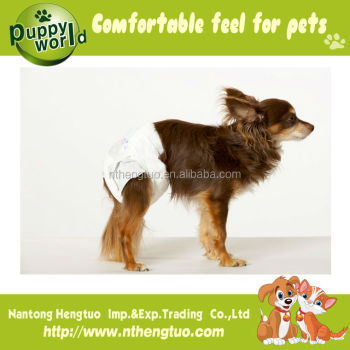 Hot sell high quality disposable dog diaper