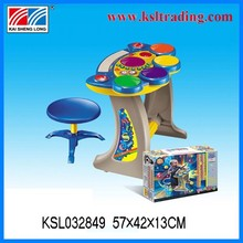 2015 new the musical instrument electronic organ with stool for kids
