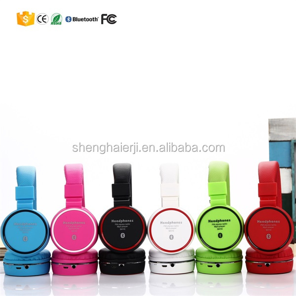 latest fashion earphone headset handsfree bluetooth for consumer electronic accessories