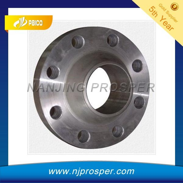 ASTM B 16.5 carbon steel welding neck flange from china (YZF-Y156)