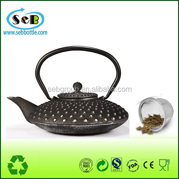 food grade material antique metal teapots guangzhou manufacturer