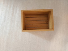 Paulownia wood crate small wood packing crates