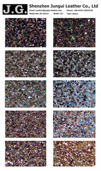 wholesale bulk glitter PU material for shoes, phone cover, car cover, bags making