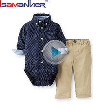 Importing china factory 100% cotton baby clothes boy set newborn