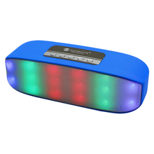 portable disco light speaker party mood music flashing light speaker night strobe led flood light with bluetooth speaker